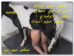 سكس حيوانات امراة مع حصان بكل الاوضاع